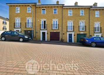 Thumbnail 4 bed town house for sale in Engineers Square, Colchester