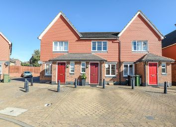 Thumbnail 2 bed terraced house for sale in Claremont Crescent, Newbury