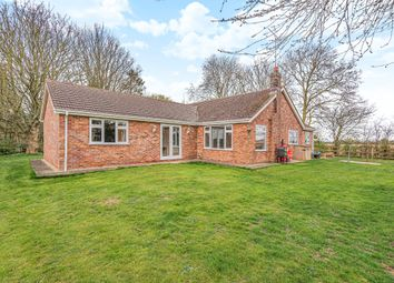 Thumbnail 3 bed detached bungalow for sale in Hitherhold Gate, Cranmore Lane, Holbeach, Spalding