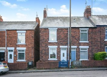 Thumbnail 2 bed semi-detached house to rent in Top Road, Calow, Chesterfield