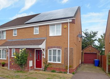 Thumbnail 3 bed semi-detached house for sale in Poppy Close, Worlingham, Beccles