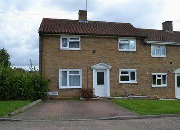 Thumbnail 2 bedroom end terrace house for sale in Church Green, Kings Heath, Northampton