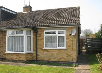 Thumbnail 2 bed bungalow to rent in St Marys Way, Roade, Northampton