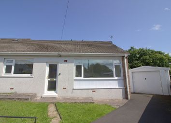 Thumbnail 2 bedroom semi-detached bungalow for sale in Dennis Place, Bryncethin, Bridgend.