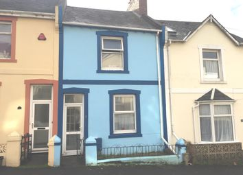 Thumbnail 2 bed terraced house for sale in Kenwyn Road, Torquay