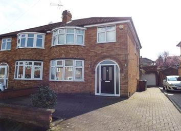 Thumbnail 3 bed semi-detached house to rent in Johnson Road, Birstall, Leicester