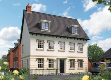"Thumbnail 5 bed detached house for sale in ""The Charlecote"" at Harbury Lane, Heathcote, Warwick"