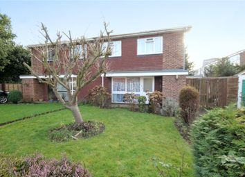 Thumbnail 4 bed semi-detached house to rent in Crockford Close, Addlestone, Surrey