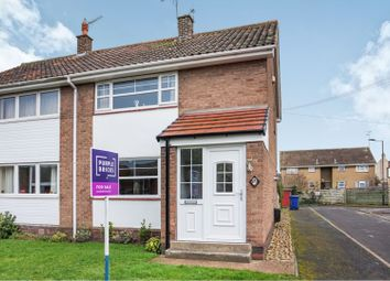 Thumbnail 2 bed end terrace house for sale in Ratten Row, Doncaster