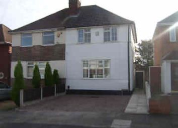 Thumbnail 2 bedroom semi-detached house to rent in Southgate Road, Great Barr, Birmingham