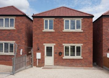 Thumbnail 3 bed detached house for sale in Laburnum Close, Creswell, Worksop