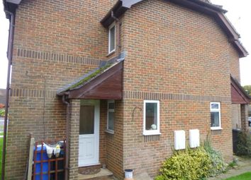 Thumbnail 1 bed terraced house to rent in Barn Meadow Close, Church Crookham, Fleet
