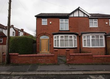 Thumbnail 3 bed semi-detached house for sale in Hardman Avenue, Prestwich, Manchester