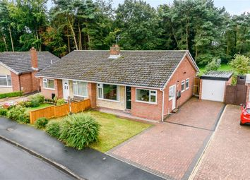 Thumbnail 2 bed semi-detached bungalow for sale in Oakwood Close, Church Fenton, Tadcaster
