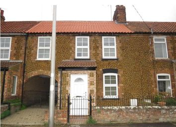 Thumbnail 2 bed terraced house for sale in Caley Street, Heacham, King's Lynn