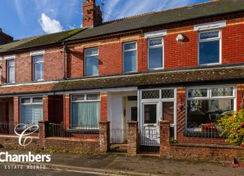 Thumbnail 3 bed terraced house for sale in Pommergelli Road, Llandaff North, Cardiff