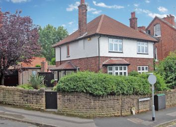 Thumbnail 3 bed detached house for sale in Hardwick Road, Sherwood, Nottingham