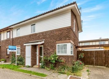 Thumbnail 3 bed semi-detached house for sale in Withycombe, Furzton, Milton Keynes, Buckinghamshire