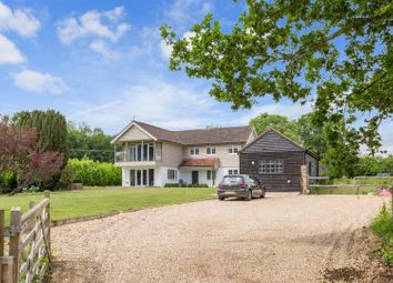 Thumbnail 4 bedroom detached house for sale in Fryland Lane, Wineham, Henfield