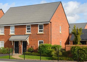 "Thumbnail 3 bedroom semi-detached house for sale in ""Finchley"" at Tay Road, Lubbesthorpe, Leicester"