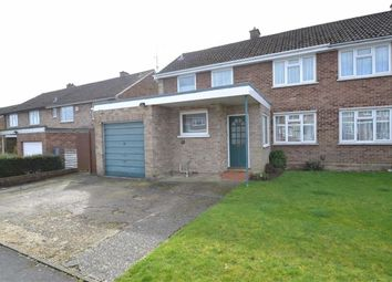 Thumbnail 3 bed semi-detached house for sale in Cresswell Road, Newbury, Berkshire