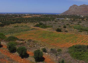 Thumbnail Land for sale in Chorafakia, Akrotiri, Chania, Crete, Greece