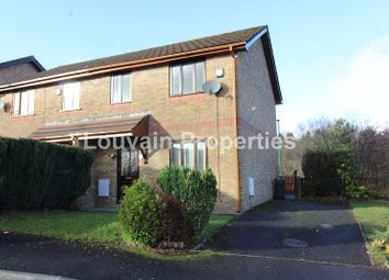 Thumbnail 3 bed property to rent in Willow Close, Ebbw Vale, Blaenau Gwent.