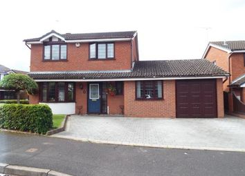 Thumbnail 4 bed detached house for sale in St. Pauls Close, Heath Hays, Cannock, Staffordshire