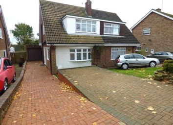 Thumbnail 3 bed semi-detached house for sale in Ryeland Road, Duston, Northampton, Northamptonshire