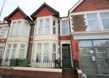 Thumbnail 4 bed terraced house to rent in Canada Road, Cardiff