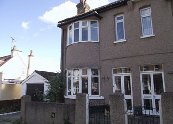 Thumbnail 3 bed semi-detached house to rent in Northview Drive, Westcliff-On-Sea