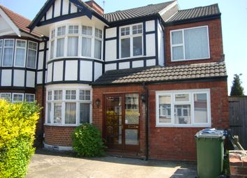 Thumbnail 6 bedroom semi-detached house to rent in Hunters Grove, Kenton