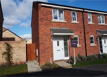 Thumbnail 2 bed semi-detached house for sale in Damselfly Road, Northampton