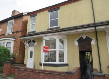 Thumbnail 4 bedroom semi-detached house for sale in Leicester Street, Whitmore Reans, Wolverhampton