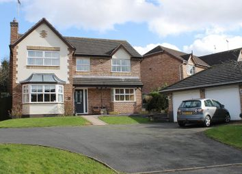 Thumbnail 4 bed detached house for sale in Chestnut Grove, Penkridge, Stafford