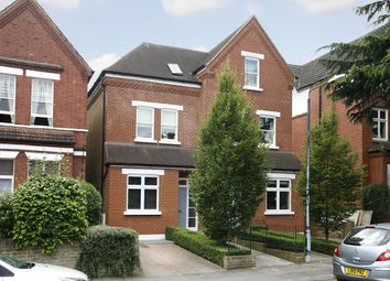 Thumbnail 5 bed detached house to rent in Vicarage Road, Kingston Upon Thames