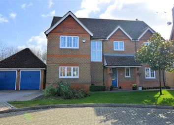 Thumbnail 5 bed detached house for sale in Hanningtons Way, Burghfield Common, Reading