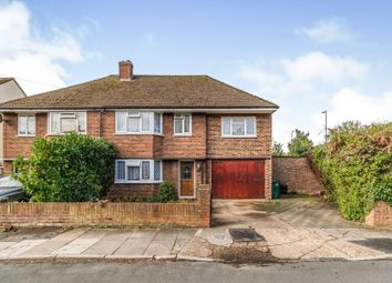 Thumbnail 4 bed semi-detached house for sale in Dorly Close, Shepperton