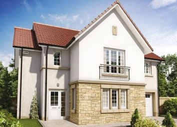 "Thumbnail 4 bed detached house for sale in ""The Cleland"" at Hillview Gardens, Nivensknowe Park, Loanhead"
