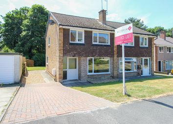 Thumbnail 3 bed semi-detached house to rent in Woodview Close, Wingerworth, Chesterfield