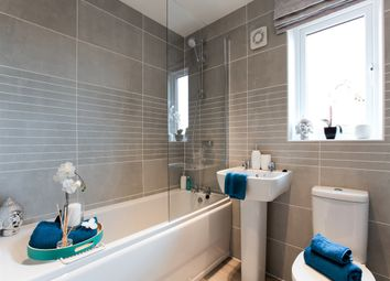 "Thumbnail 3 bed town house for sale in ""The Lumley"" at Minchens Lane, Bramley, Tadley"