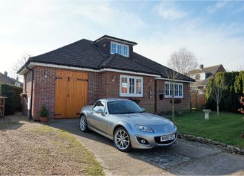 Thumbnail 3 bed detached bungalow for sale in Maddoxford Lane, Boorley Green