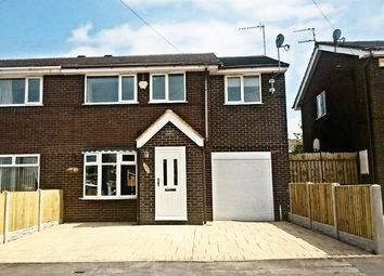 Thumbnail 4 bed semi-detached house to rent in Medina Way, Kidsgrove, Stoke-On-Trent