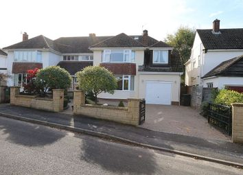 Thumbnail 5 bed semi-detached house for sale in Oakleigh Close, Backwell, Bristol, Bristol