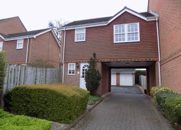 Thumbnail 1 bed flat to rent in Calcott Park, Yateley, Hampshire
