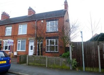 Thumbnail 3 bed end terrace house for sale in Main Street, Newbold Verdon, Leicester