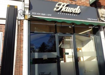 Thumbnail Restaurant/cafe to let in Hagley Road, Birmingham