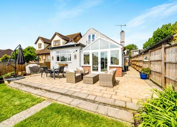 Thumbnail 4 bed detached house for sale in Greenway, Harold Park, Romford