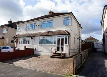 Thumbnail 4 bedroom semi-detached house for sale in Whitecross Avenue, Whitchurch