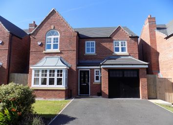 Thumbnail 4 bed detached house for sale in Stephenson Street, Winnington, Northwich